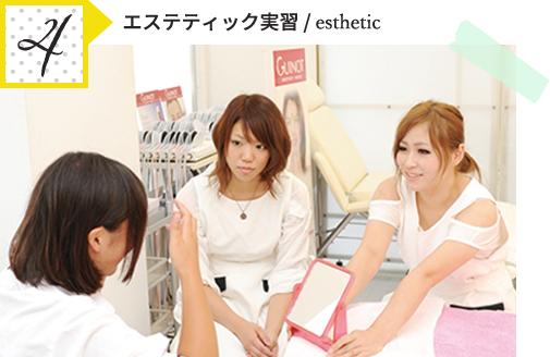 4.エステティック実習 / esthetic